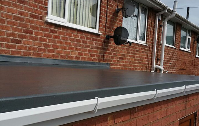 GRP Fibre Glass Flat Roof C R Roofing